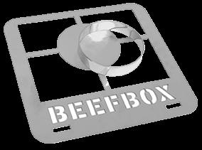 Burger-Grillrost für E-BEEFBOX