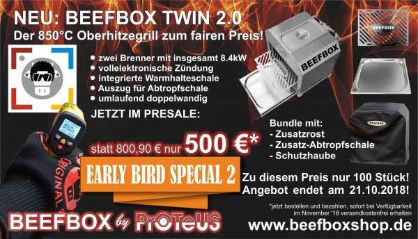 Beefbox TWIN 2.0 EARLY-BIRD-SPECIAL Bundle Funky Cow 1