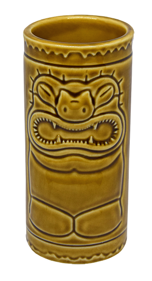 Tiki Cup Brown