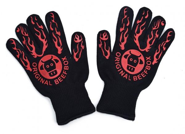 BBQ-Handschuhe, hitzebeständig bis 500 Grad Celsius