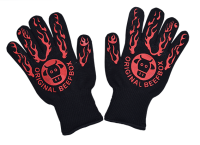Grill / BBQ Gloves made of aramid fibers
