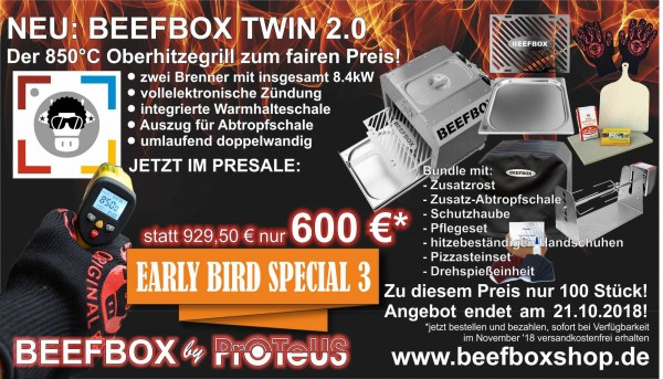 Beefbox TWIN 2.0 EARLY-BIRD-SPECIAL Bundle Funky Cow 2