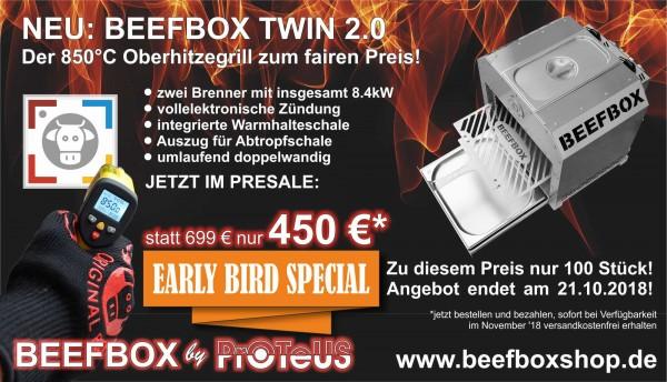 Beefbox TWIN 2.0 EARLY-BIRD-SPECIAL
