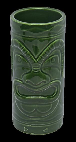 Tiki-Becher - grün