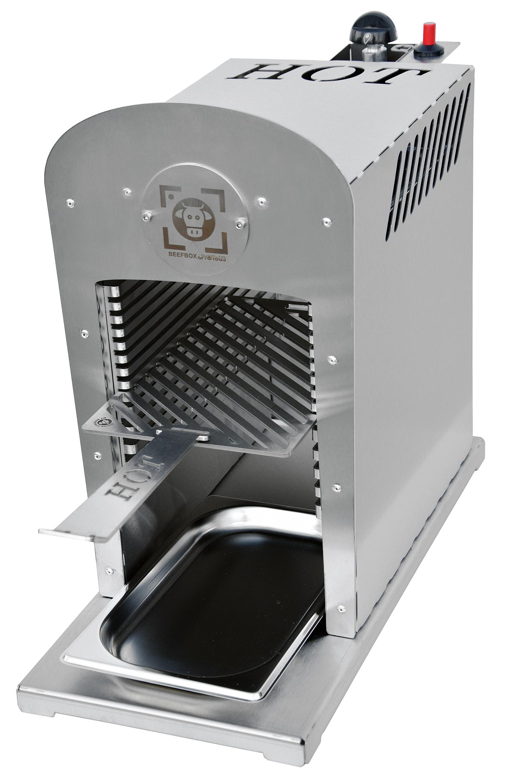 das perfekte steak beefbox pro 800 grad oberhitze grill beefbox 800 grad oberhitze steak grill. Black Bedroom Furniture Sets. Home Design Ideas