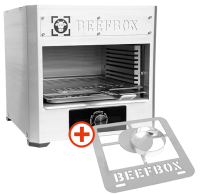 E-BEEFBOX inkl. GRATIS Burger-Grillrost